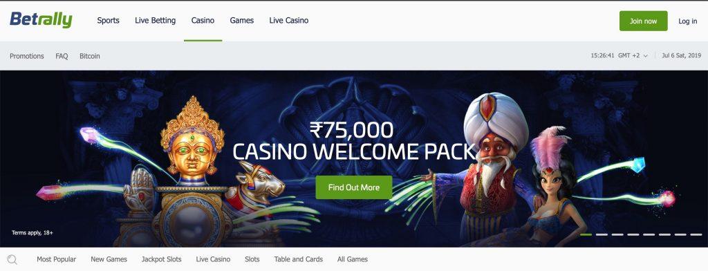 Betrally India Casino
